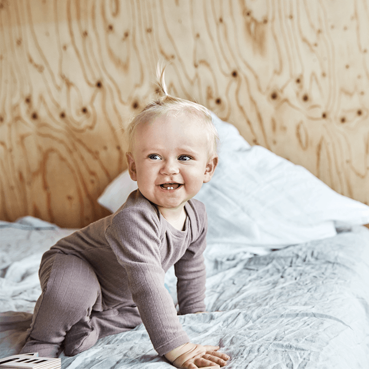 Miksi lapsen on hyvä nukkua villassa