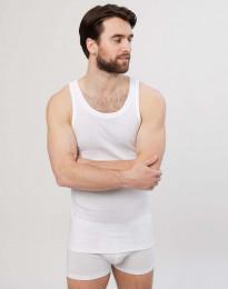 Premium Classic - hihaton paita puuvillaa valkoinen