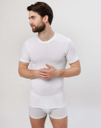 T-paita puuvillaa valkoinen