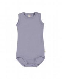 Hihaton vauvan body merinovillaa vaalea violetti