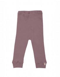 Vauvan leggingsit ekomerinovillaa - tumma roosa