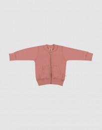 Vauvan takki villafroteeta - Roosa