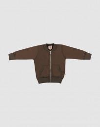 Vauvan takki villafroteeta - Tummanruskea