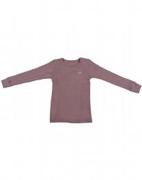 Villapaita - ekomerinovillaa tumma roosa