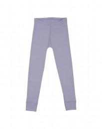 Lasten leggingsit - ekologista merinovillaa vaalea violetti