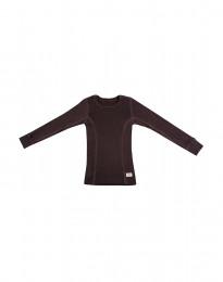 Lasten paita - ekomerinovillaa tummanvioletti