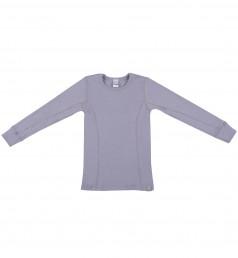 Lasten paita - ekologista merinovillaa vaalea violetti