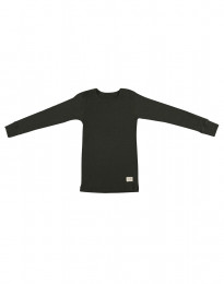 Lasten paita - ekomerinovillaa tummanvihreä