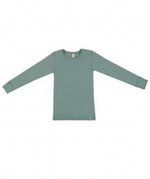 Lasten paita - ekologista merinovillaa vaaleanvihreä