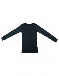 Lasten paita leveää ribbineulosta yönsininen