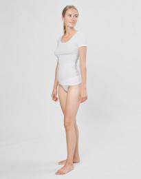 DILLING mini - alushousut ekopuuvilla-elastaania valkoinen