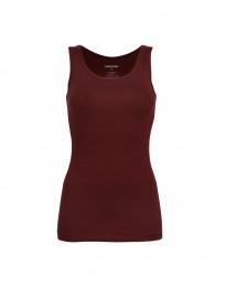 Hihaton paita ekopuuvilla-elastaania viininpunainen