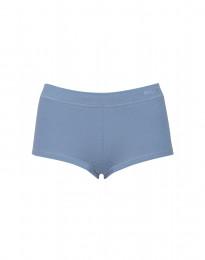Hipsterit ekopuuvilla-elastaania sininen