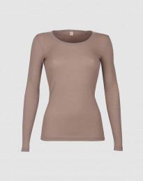 Naisten paita ribbineulosta vanha roosa