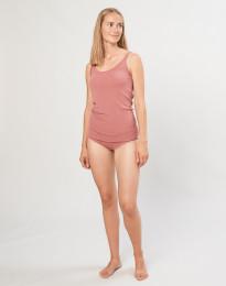 Naisten merinovilla midi-alushousut Roosa