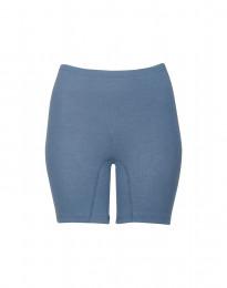 Shortsipituiset naisten alushousut merinovillaa kyyhkynsininen