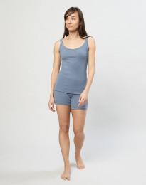 Naisten shortsipituiset alushousut sininen