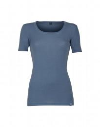 Naisten t-paita merinovillaa kyyhkynsininen