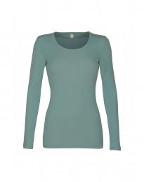 Naisten paita - ekologista merinovillaa vaaleanvihreä