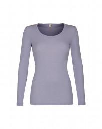 Naisten paita - ekologista merinovillaa vaalea violetti