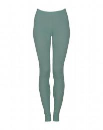 Naisten leggingsit - ekologista merinovillaa vaaleanvihreä