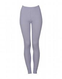 Naisten leggingsit - ekologista merinovillaa vaalea violetti