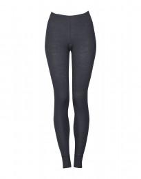 Naisten leggingsit - ekologista merinovillaa tummanharmaa