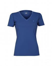 UV-suojattu naisten t-paita suojakerroin 50+ sininen