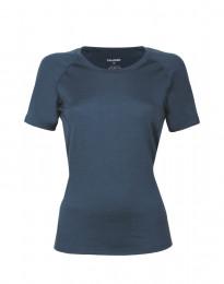 T-paita huippulaatuista merinovillaa tummansininen