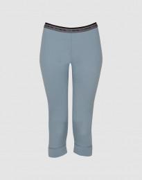 3/4-leggingsit huippulaatuista merinovillaa siniharmaa