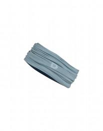 Tuubihuivi huippulaatuista merinovillaa, siniharmaa