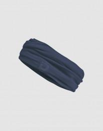 Tuubihuivi huippulaatuista merinovillaa, Tummansininen
