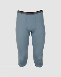 3/4-pituiset pitkät alushousut – huippulaatuista merinovillaa siniharmaa