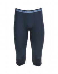 3/4-pituiset pitkät alushousut - huippulaatuista merinovillaa tummansininen