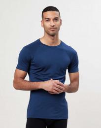 T-paita merinovillaa tummansininen