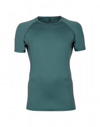 T-paita merinovillaa turkoosinvihreä