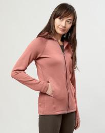 Naisten huppari taskuilla roosa