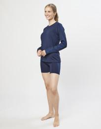 Shortsipituiset alushousut - ekologista ja huippulaatuista merinovillaa tummansininen