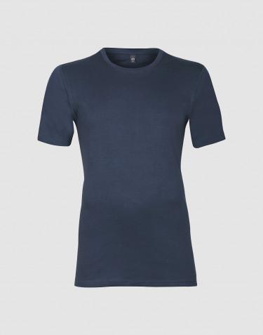 T-paita puuvillaa tummansininen
