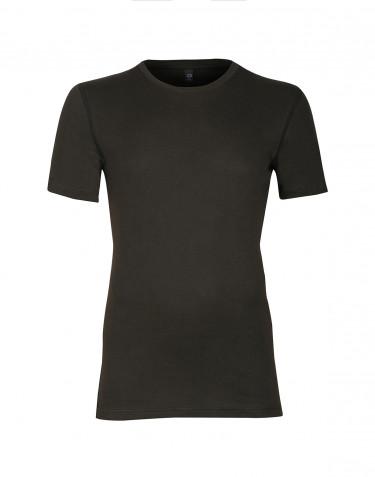 T-paitaa puuvillaa tummanvihreä