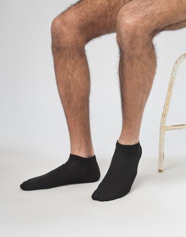Miesten matalavartiset sukat villaa