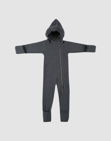 Vauvan haalari villafleeceä tummanharmaa