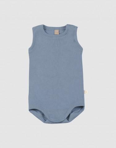 Vauvan hihaton body - sininen
