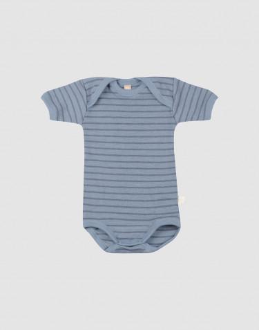 Vauvan lyhythihainen body - siniraidallinen