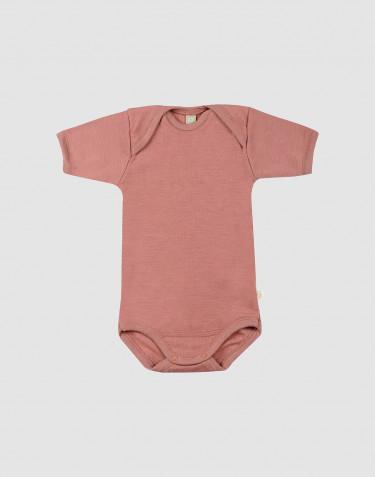 Vauvan lyhythihainen body - roosa