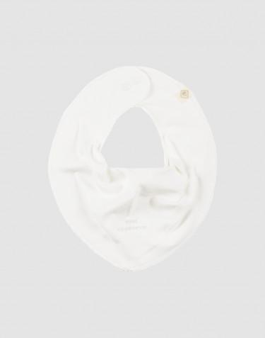 Vauvan kuolalappu ekologista puuvillaa valkoinen