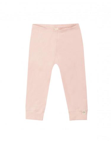 Vauvan leggingsit ekologista puuvillaa roosa