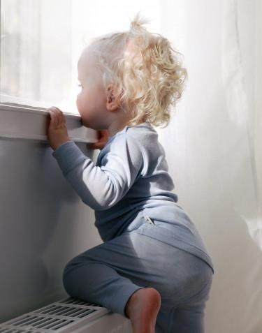 Vauvan pitkähihainen paita merinovillaa/silkkiä