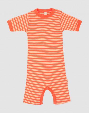Vauvan kesäpotkupukubody merinovillasilkkiä