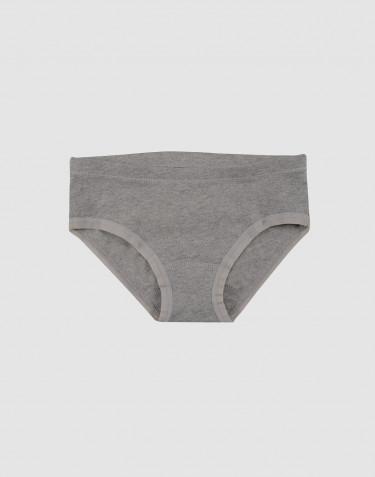 Tyttöjen alushousut harmaameleerattu